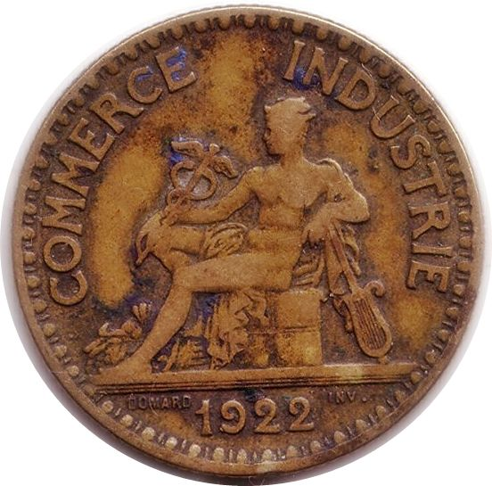 Chambre de commerce bon pour 2 francs 1922 domard ebay for Chambre de commerce de france bon pour 2 francs
