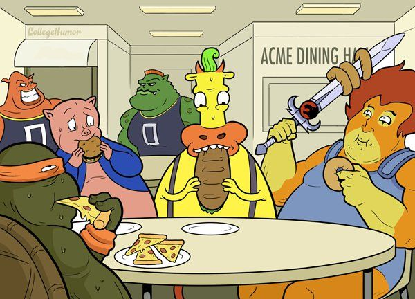 1293933b92af817536a9a64 - Dibujos animados en la Universidad