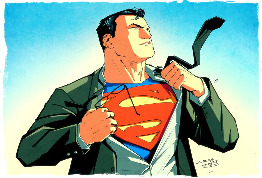 Superman Chest Drawing Superman d