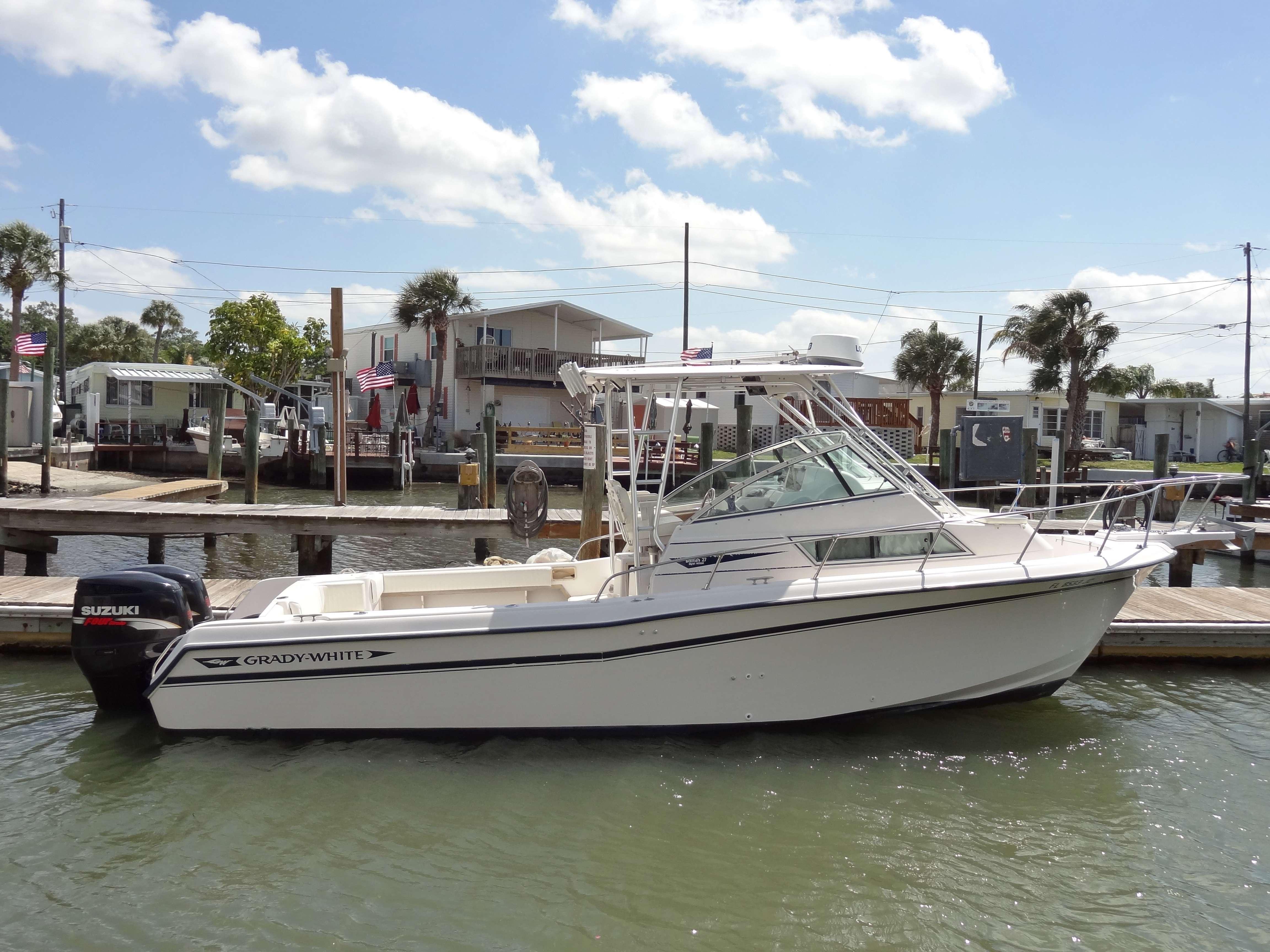 Wholesaleingfla grady white 272 sailfish walk offshore for Grady white fishing boats