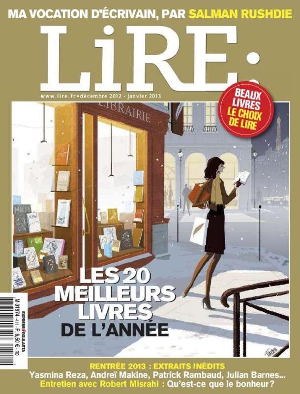 Lire N°411 Décembre 2012 Janvier 2013