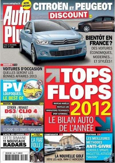 Auto Plus N°1268 du 24 au 30 Décembre 2012