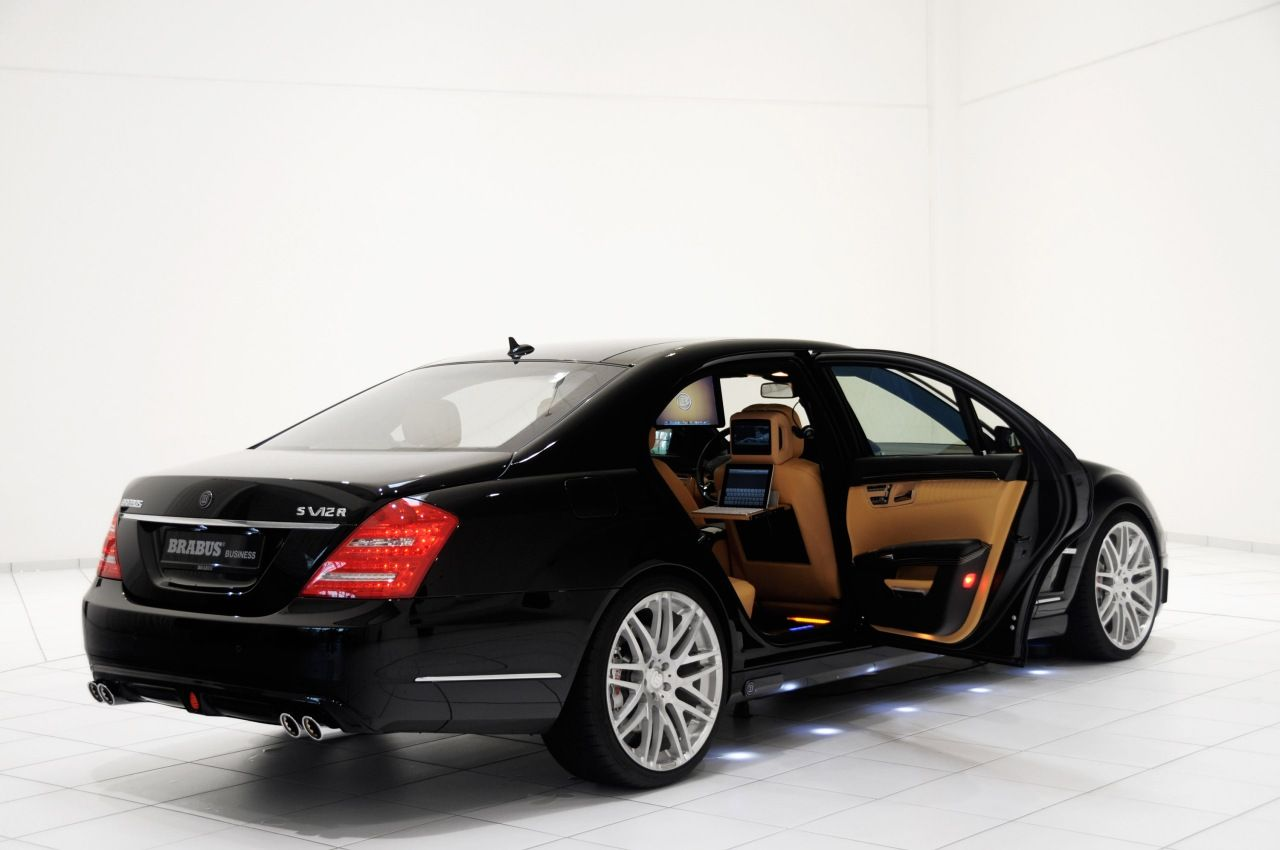Mercedes benz s v12 r ibusiness by brabus used daewoo cars for Used mercedes benz s