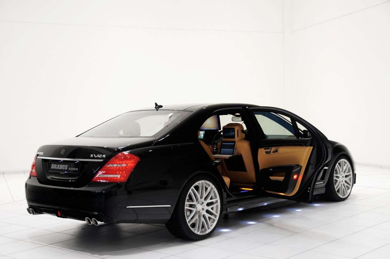 mercedes benz s v12 r ibusiness by brabus used daewoo cars. Black Bedroom Furniture Sets. Home Design Ideas