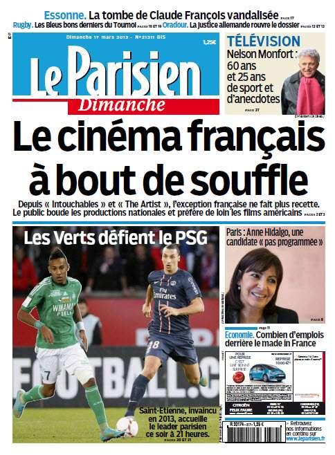 Le Parisien dimanche 17 Mars 2013