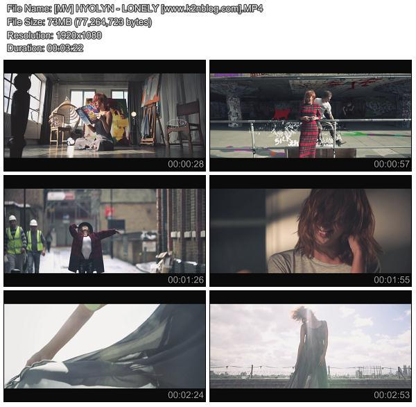 (MV) HYOLYN - LONELY (HD 1080p Youtube)