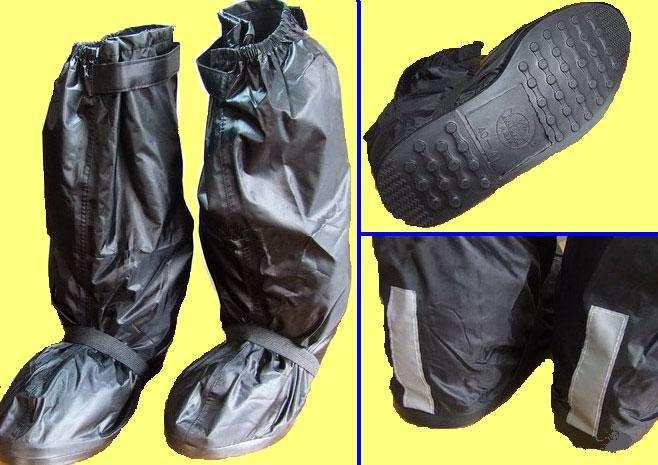 Funda impermeable para botas moto zapatos talla 40 41 ebay - Fundas para zapatos ...
