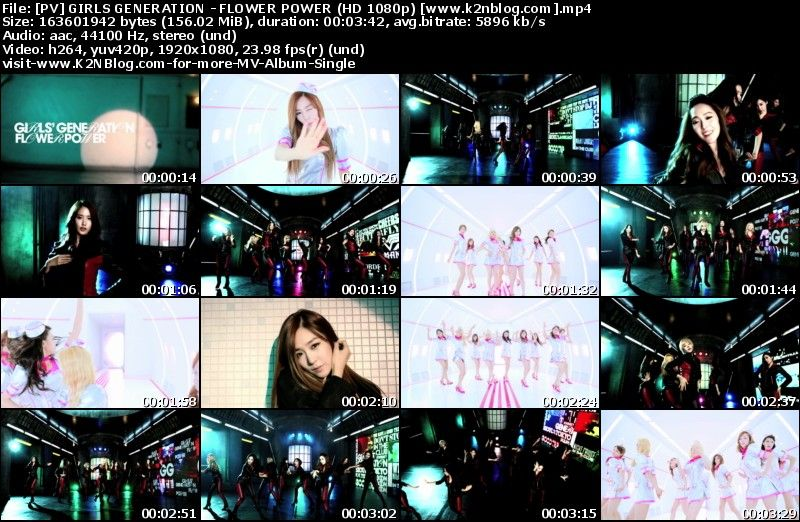 [PV] Girls Generation   Flower Power [HD 1080p Yotube]