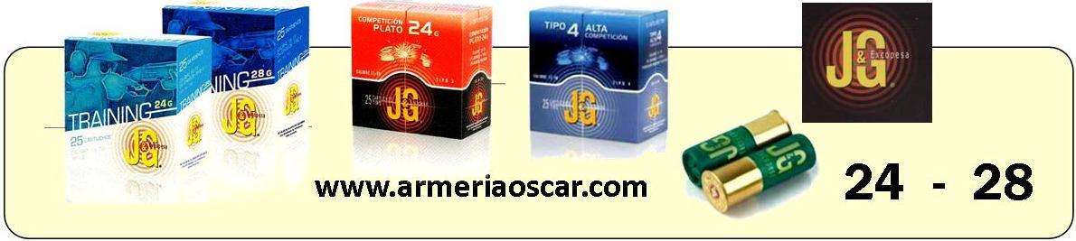 CARTUCHOS J.G. TRAP DE 24 GRAMOS