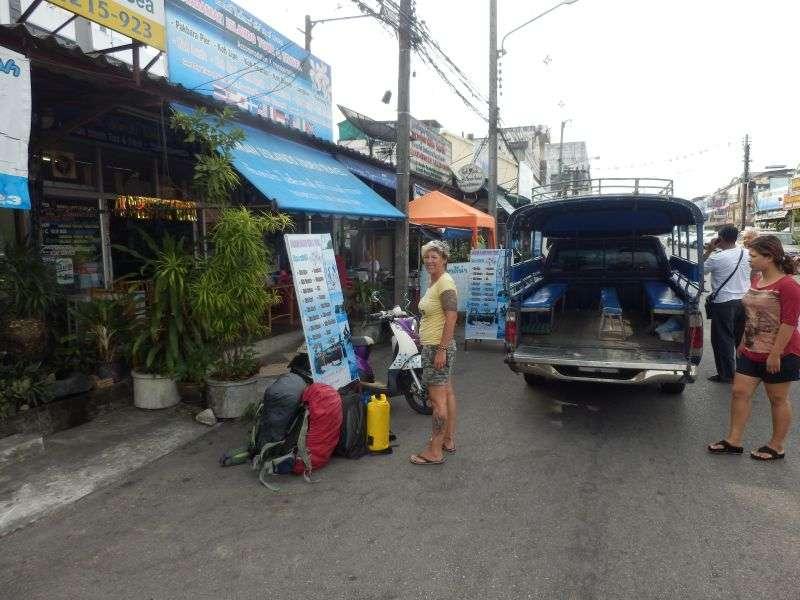 wieder einmal angekommen in Trang