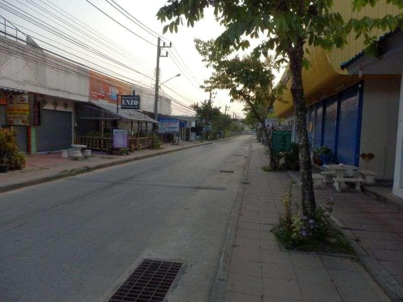 morgens um 06.40 Uhr in Kao Lak