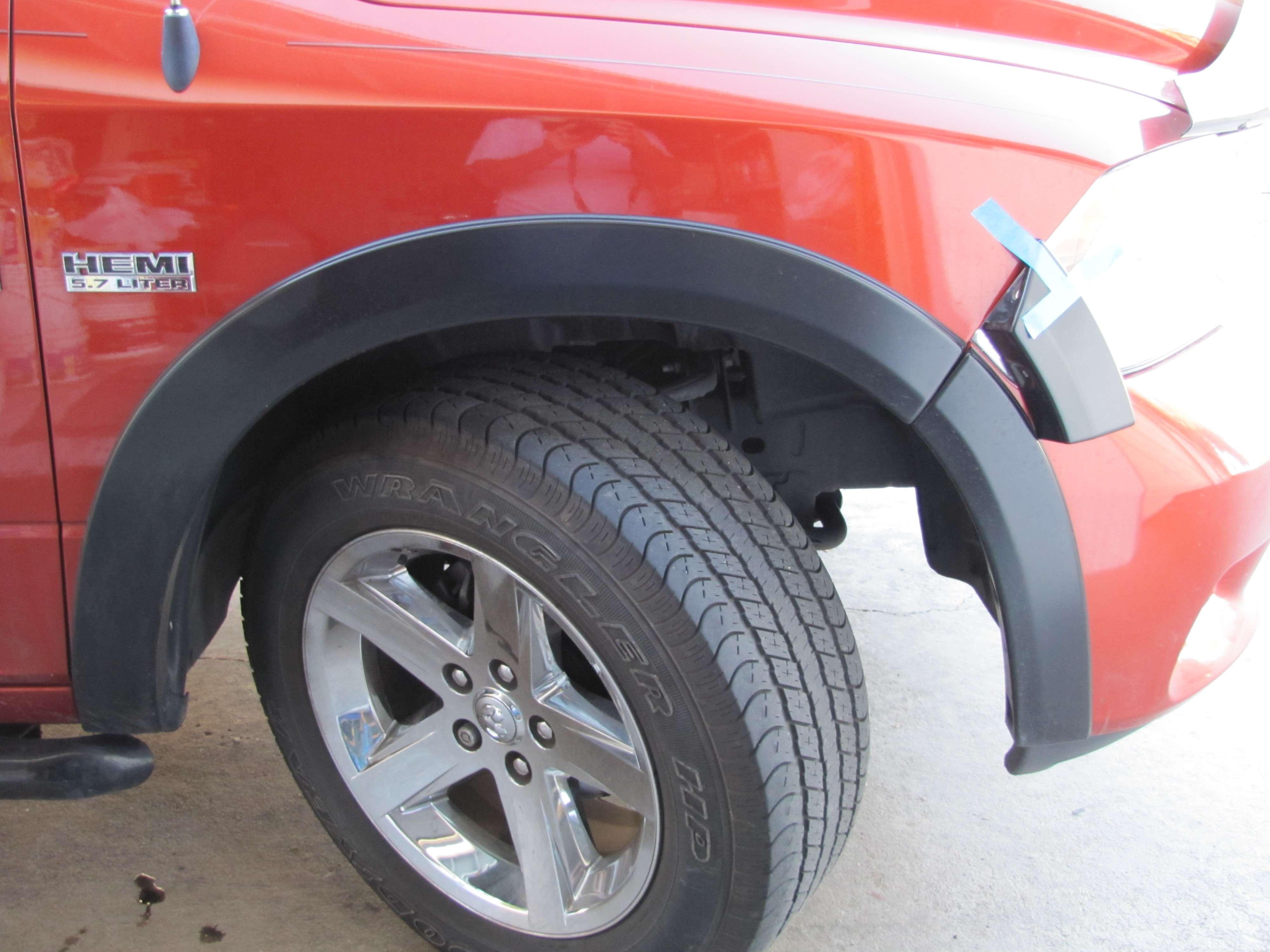 4th Gen Wheel Flares - DODGE RAM FORUM - Ram Forums & Owners