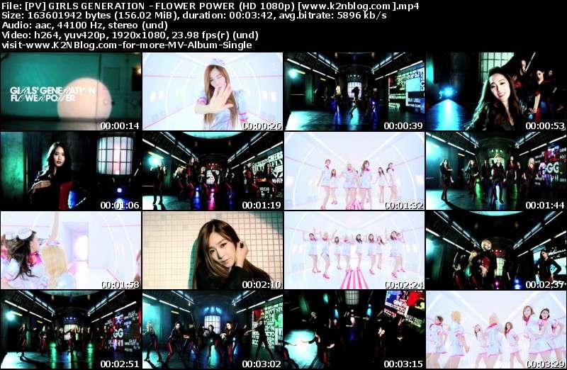 [PV] Girls' Generation - Flower Power [HD 1080p Yotube]