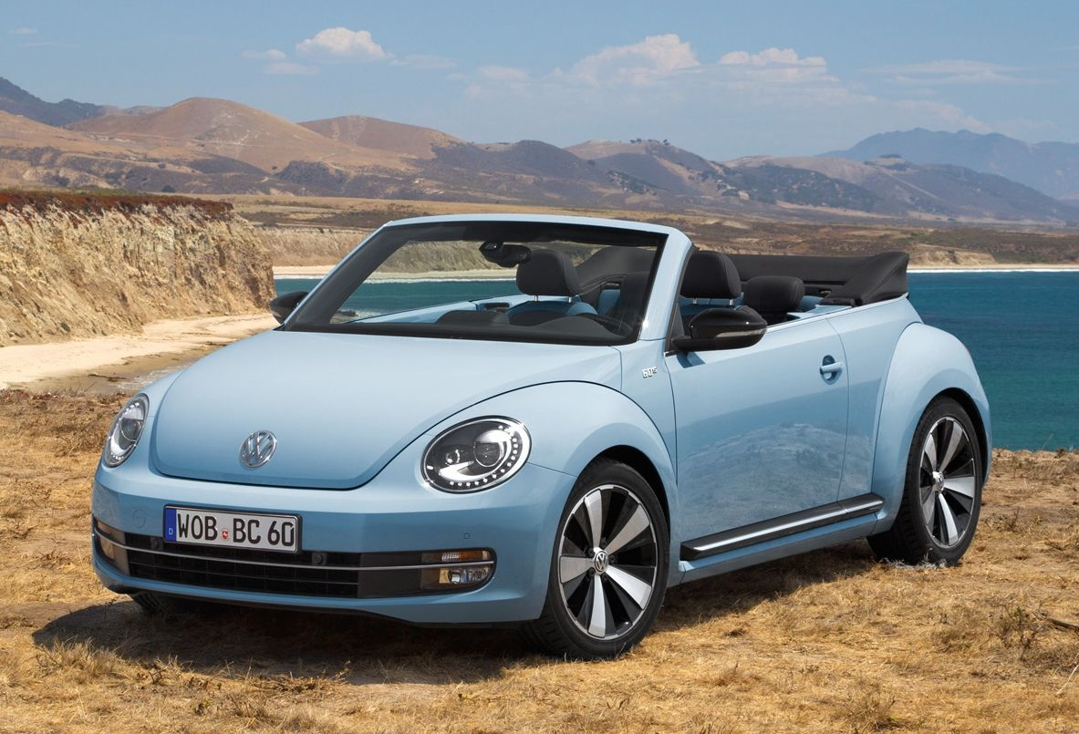 Volkswagen Beetle Cabriolet 60s Edition And 70s